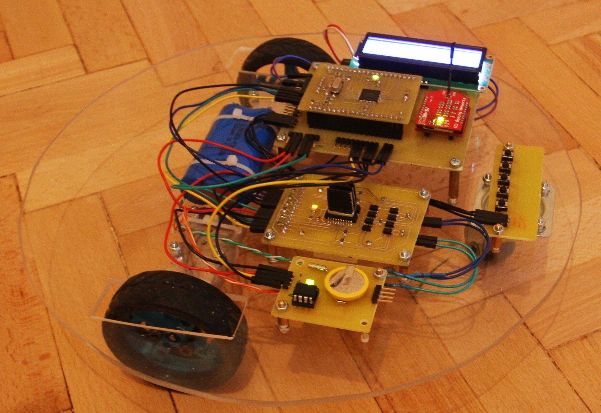 Робот пылесос из ардуино своими руками 847
