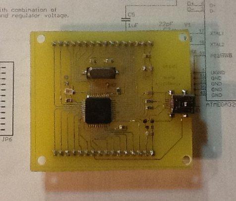Arduino с usb-портом своими руками 34